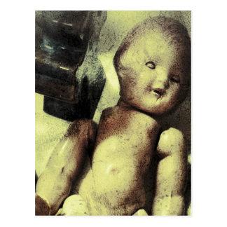Creepy Doll Postcard