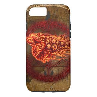 Creepy flying  skulls Case-Mate iPhone case