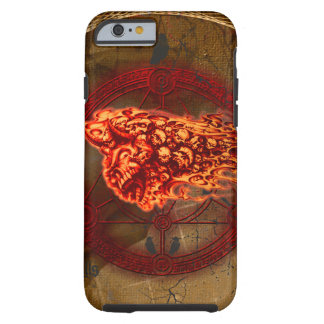 Creepy flying  skulls tough iPhone 6 case