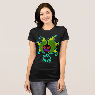 Creepy Gamer Flower T-Shirt