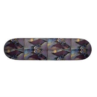 Creepy Girl Bat Skateboard Deck