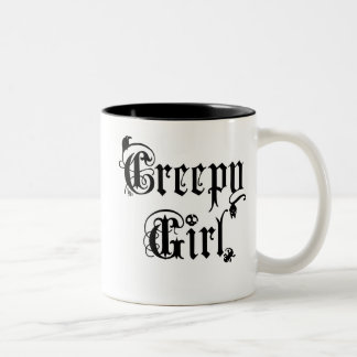 Creepy Girl Mug