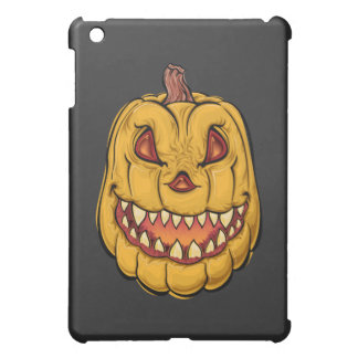 Creepy Halloween Pumpkin iPad Mini Cover