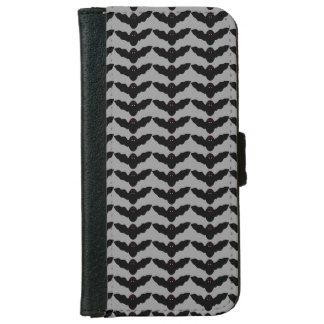 Creepy Halloween Vampire Bat iPhone Wallet Case