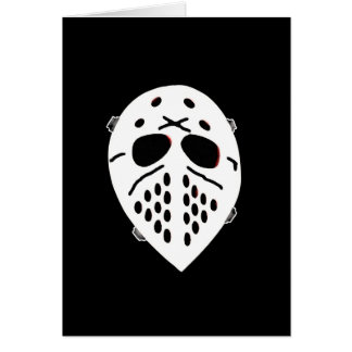 Creepy Hockey Mask Products Card