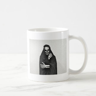 Creepy Hooded Figure Coffee Mug