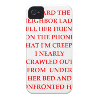 CREEPY iPhone 4 Case-Mate CASE