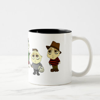 Creepy Kidz Two-Tone Coffee Mug