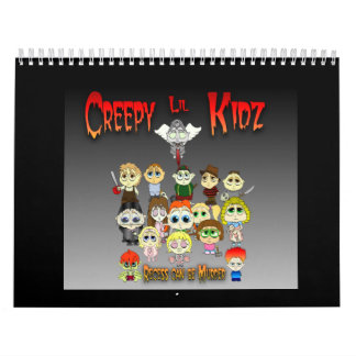 Creepy Lil Kidz 2009 Calendars