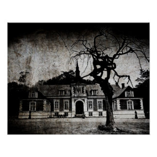 Creepy Mansion - Poster