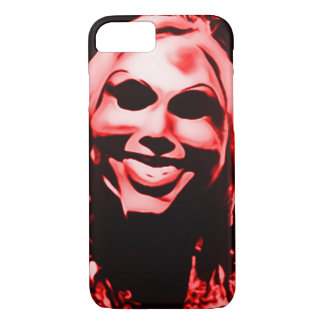 Creepy Masked Serial Killer iPhone 7 Case