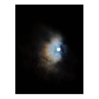 Creepy Night Sky Postcard