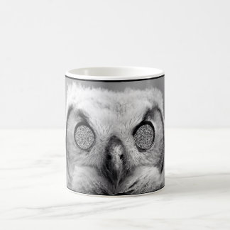 Creepy Owl Coffee Mug
