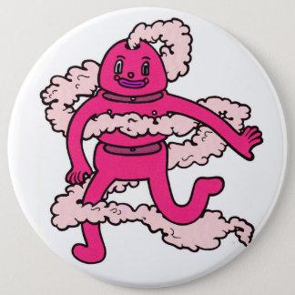 Creepy Pink Guy Pin