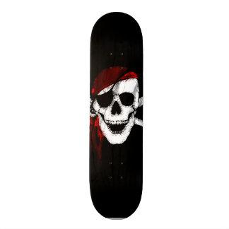 Creepy Pirate Skull and Crossbones Skateboard Decks