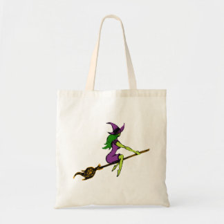 Creepy & Playful Witchy Witch Tote Bag