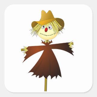 Creepy Scarecrow Sticker