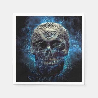 Creepy Skull Paper Napkins