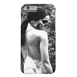 Creepy Skull Woman Barely There iPhone 6 Case