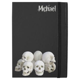 Creepy skulls pile