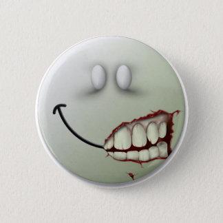 Creepy Smile 2 Inch Round Button
