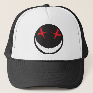 Creepy Smiley Trucker Hat