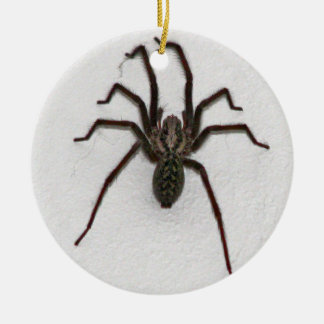 Creepy Spider Ceramic Ornament