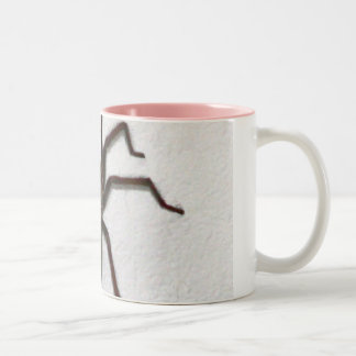 Creepy Spider Two-Tone Coffee Mug