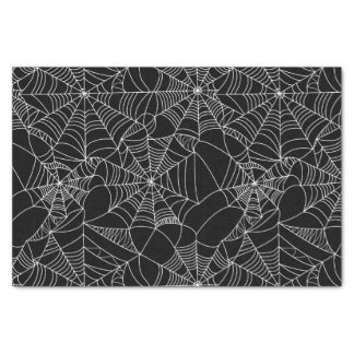 Creepy Spider Webs Tissue Paper