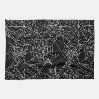 Creepy Spider Webs Towels