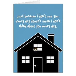 CREEPY Thinking Of You Card