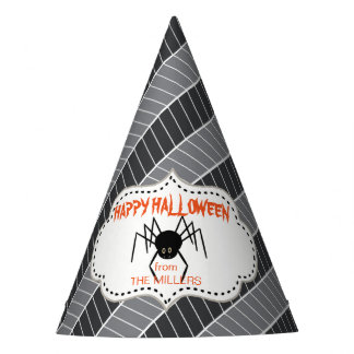 Creepy Treats Spider ID219 Party Hat