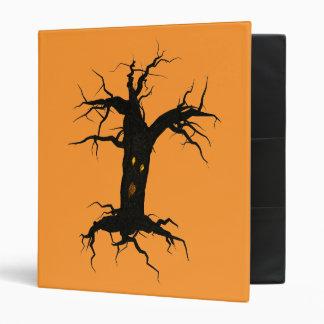 Creepy Tree Vinyl Binders