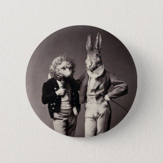 Creepy Vintage Costumes 2 Inch Round Button