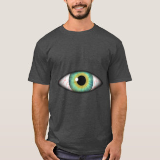 Creepy Weird Evil Blue Eye Iris Eyeball Cyclops T-Shirt