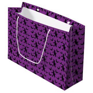 Creepy Witch Broom Halloween Party Favor Gift Bags