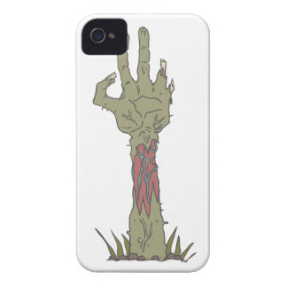 Creepy Zombie Haind Rising Case-Mate iPhone 4 Cases