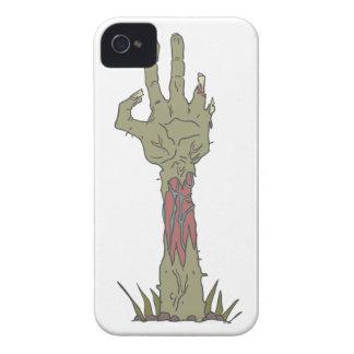 Creepy Zombie Haind Rising iPhone 4 Case