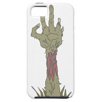 Creepy Zombie Haind Rising iPhone 5 Case