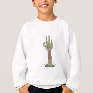 Creepy Zombie Haind Rising Sweatshirt