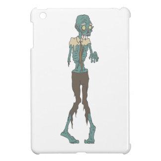 Creepy Zombie Wearing Tie With Rotting Flesh Outli iPad Mini Case