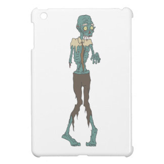 Creepy Zombie Wearing Tie With Rotting Flesh Outli iPad Mini Covers