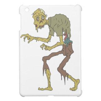 Creepy Zombie With Melting Skin With Rotting Flesh iPad Mini Case