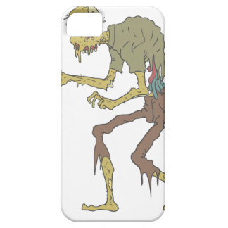 Creepy Zombie With Melting Skin With Rotting Flesh iPhone 5 Cover