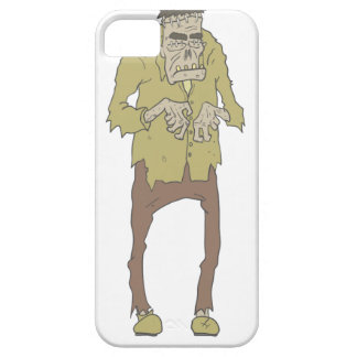 Creepy Zombie With Stitched Eyes With Rotting iPhone 5 Case