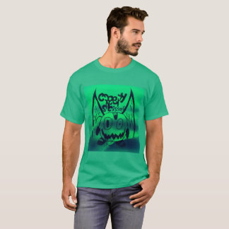 CreepyScissors-monster in green water T-Shirt