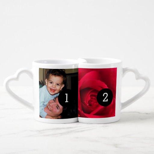 Créez facilement vos propres jusqu'à 4 images Inst Tasses Duo