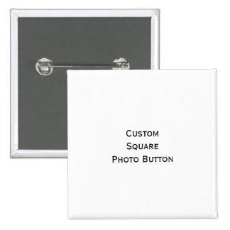 Créez le bouton carré de Pin de photo de coutume Macaron Carré 5 Cm