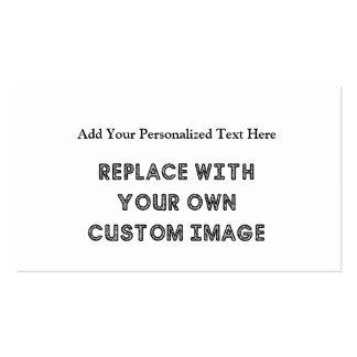 Créez une création en fonction du client avec votr cartes de visite personnelles