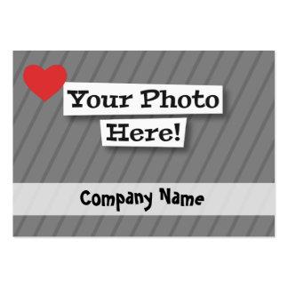 Créez vos propres carte de visite grand format